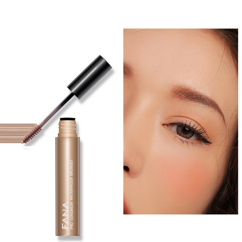 4 Color Thrush Cream Eyebrow Pencil Waterproof Anti-Staining Non-Marking Gel Powder Sweat-Resistant Raincoat