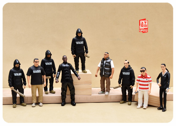 pvc figure The simulation model toy decoration   TR IBE doll ornaments 9pcs/set pvc figure scene dolls ornaments character model scene ki ss band decoration toy gift 3pcs set out of print only one set