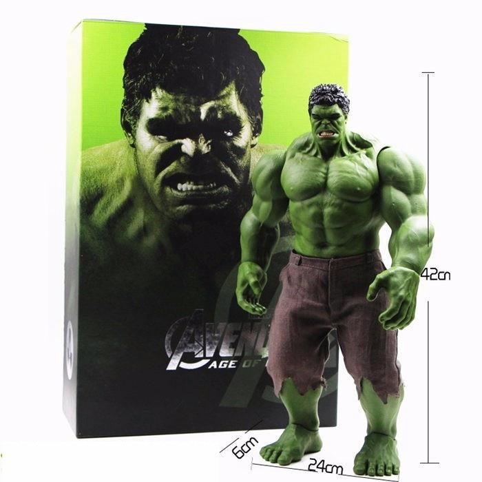 Hot Avengers Incredible Hulk Iron Man Hulk Buster Leeftijd Van Ultron Hulkbuster 42 CM PVC Speelgoed Action Figure Hulk Smash