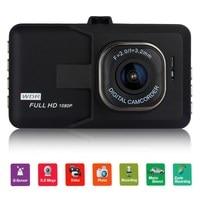 VODOOL D'origine De la Voiture DVR Caméra 170 Degrés Full HD 1080 p Enregistreur 3.0 Pouce Dashcam Caméra Vidéo Registrator G-capteur Dash Cam