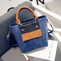 Female bag or lend large capacity of new fund of 2016 autumn winters is recreational vintage pu bag lady inclined shoulder bag o