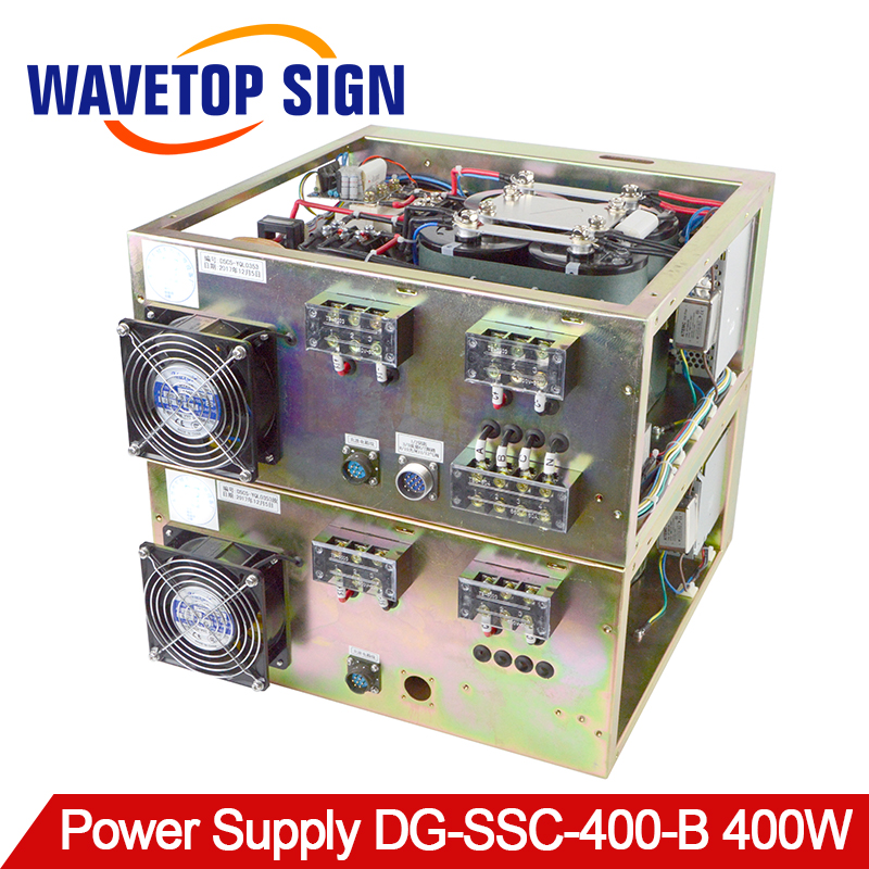 WaveTopSign Mold Repair Laser Welding Machine Power Box DG-SSC-400-B 400W 220V/380V Dual Lamp Dual BoxWaveTopSign Mold Repair Laser Welding Machine Power Box DG-SSC-400-B 400W 220V/380V Dual Lamp Dual Box