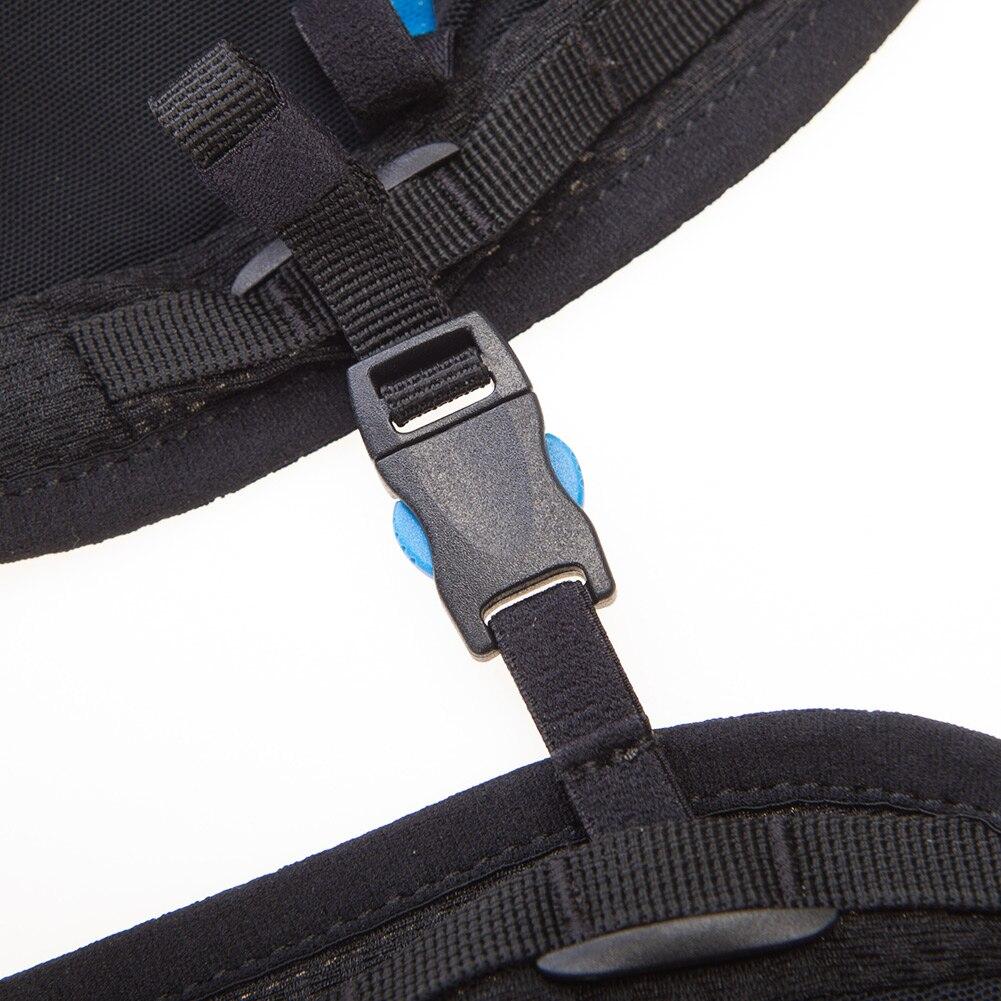 AONIJIE C950 5L sac à dos de peau avancé sac d'hydratation sac à dos gilet harnais vessie d'eau randonnée course Marathon course - 4