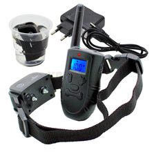 Professional Remote Electronic Dog Training Collar with Shock Vibration Sound Way