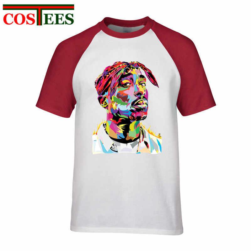 2018 nuevo marca famosa de Rap de los hombres de verano de las mujeres/3D Hip Hop de impresión grande notorio 2PAC Eazy Tupac listo A T camisas Rock camisetas