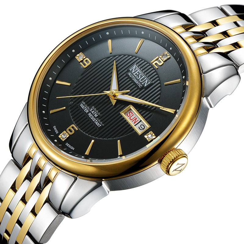 Swiss Nesun Men's Watch Auto Self-winding movement