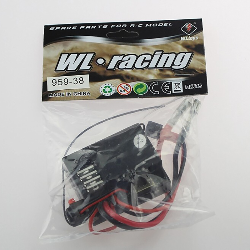 Wltoys L959 1/12 Remote Control Car Spare Parts Receiver L959-38 Free Shipping spare light bar cable fitting for wltoys q222 g remote control quadcopter