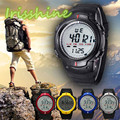 Irissshine #0105 man watches Waterproof Outdoor Mountaineering Sports Men Digital LED Quartz Wrist Watch wholesale