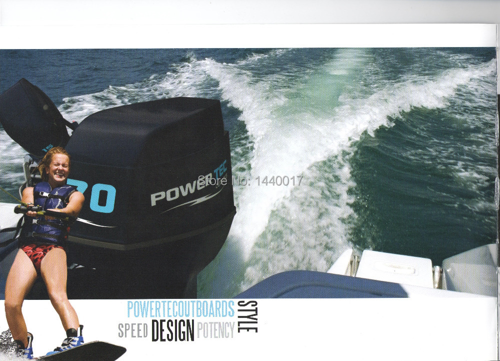 Freeshipping 15HP POWER TEC Outboard Motor Boat Engine Water