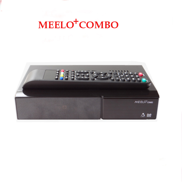 2PCS MEELO COMBO Satellite Receiver 1200MHz Dual DMIPS 4GB Flash DDR3 DVB-S2 DVB-C/T2 Linux DVB S2 T2 meelo turbo dvb s2 c t2 linux iptv satellite receiver 7 segment 4 digits display processor 256mb flash 512mb ddr vs meelo one