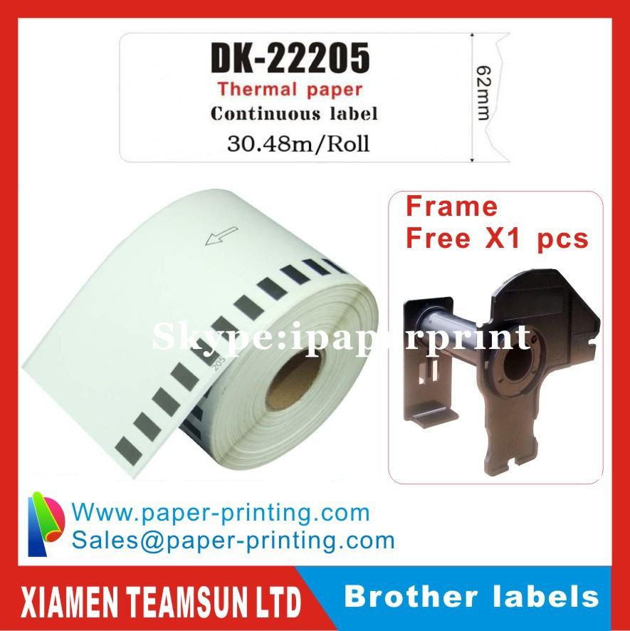 Pack of 3 Brother Compatible Labels DK-11208 with 1x Re-useable Cartridge