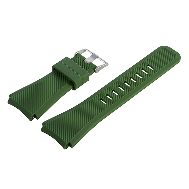 2018 Bonne Qualité Bracelet en Silicone Coloré bande pour montre-bracelet
