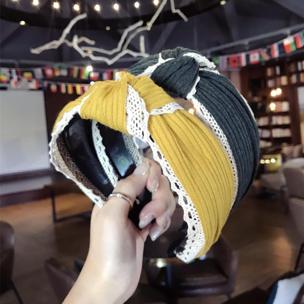 Women Girl Alice Hair Band Hoop Headband Twist Hairband Knot Cross Headwrap Lot