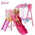 bebe reborn menina Set a large Slides Swings toy doll gift girl children's toys adora doll boneca ursinho de pelucia