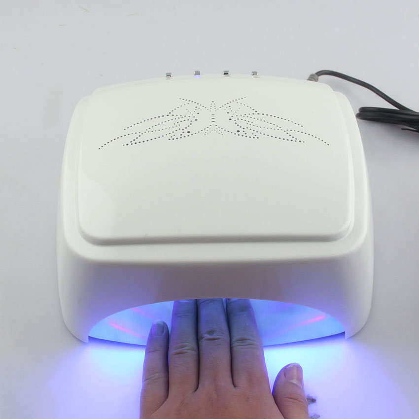LKE 60W CCFL LED UV Lamp Fast Curing All Nail Gel Polish Machine ...