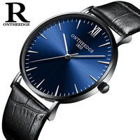Luxury Mens Watches Leather Quartz Casual Sport Man Clocks Switzerland Fashion Male Wristwatch 30m Waterproof Original