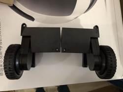 (Для X5S) liectroux робот-пылесос X5S левая и правая колесо в сборе с мотором, включает 1 * левое колесо + 1 * правый руль