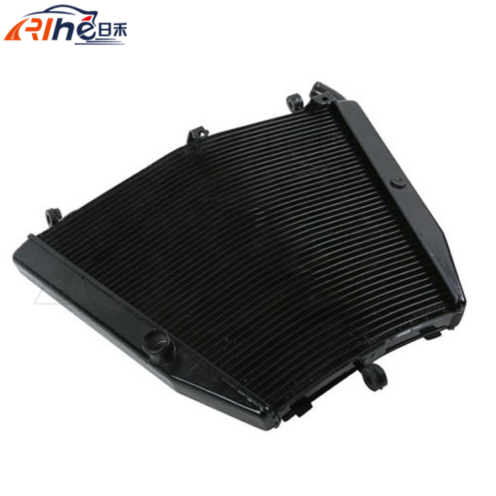 new wholesale motorcycle radiator cooler aluminum motorbike radiator black color For Honda CBR1000RR CBR 1000RR 2006 2007 brand new motorcycle accessories radiator cooler aluminum motorbike radiator for honda crf450r 2005 2006 2007 2008