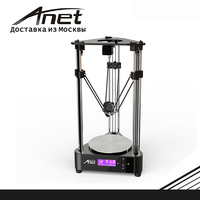 ANET A4 A9 3d printer black/aluminum hot bed LCD screen/fast shipment from Moscow