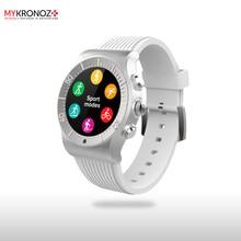 Смарт часы ZeSport цвет серебро/белый