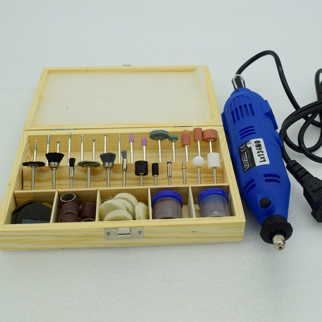Electric Rotary Tool Kit &100Pcs Wood Metal Mold Engraving Tool For Jewelry
