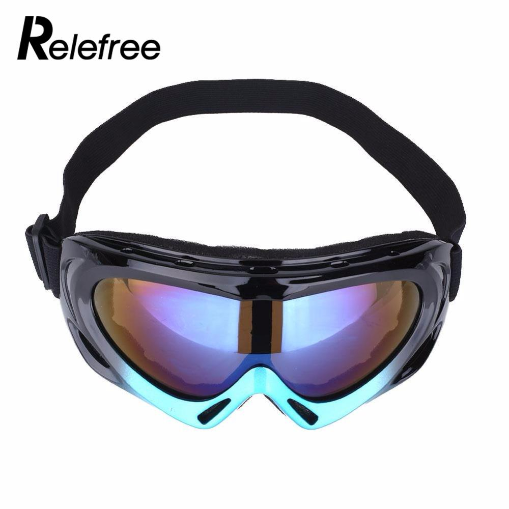 Snow Ski Snowboard Goggles Skiing Monolayer Windproof Glasses Hiking Eyewear Eyeglasses Outdoor