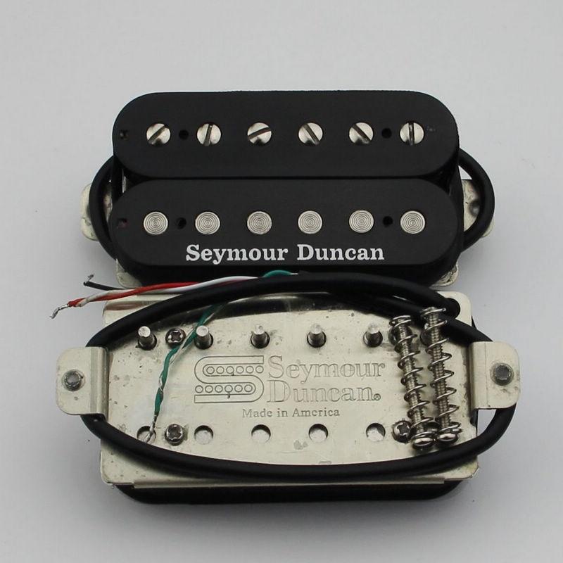 Image 2 - Seymour Duncan col et pont Humbucker pick up noir nouveau-in Pièces et accessoires de guitare from Sports et Loisirs on AliExpress