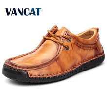 Men's Driving Shoes Men Cow Leather Loaf