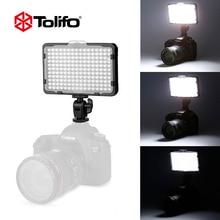 Tolifo pt-176s 176 светодиодная лампы 3200 к/5600 к ультра светодио дный яркий светодиодный камера видео свет для Canon Nikon и других DSLR s (без батарея)