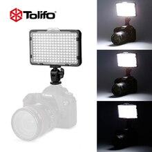Tolifo PT-176S Ultra Brilhante Única Bateria Operado Mini Led Luz Câmera de Vídeo para Canon Nikon Pentax e outras Câmeras DSLR