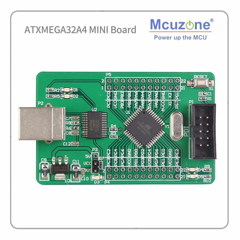 ATMEL ATxmega32A4 Development Kit 2 Uart Ft232rl XMEGA32A4 32A4 MCIROCHIP PDI AVR Board Mcu IC