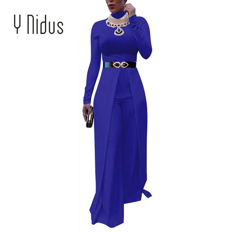 Detail Feedback Questions about Y Nidus Women s Jumpsuits Autumn ... 1747090a454c