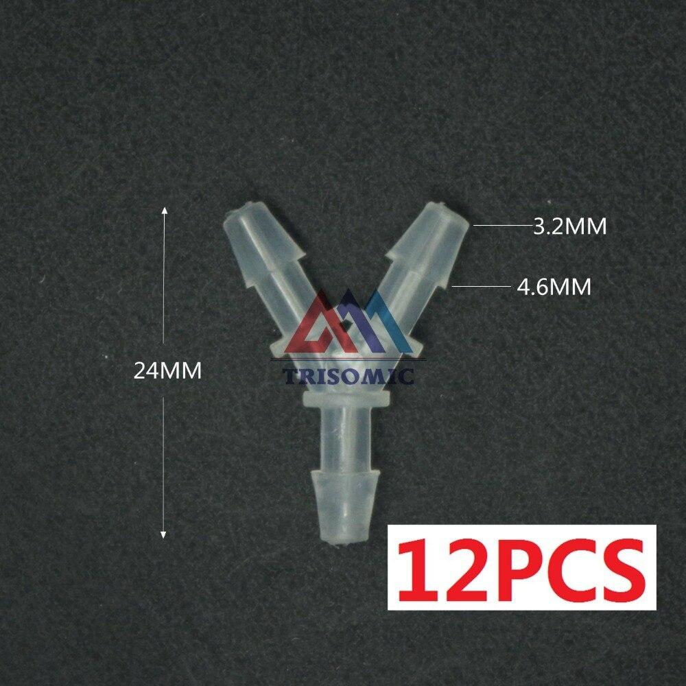 Sanitär Rohre & Armaturen Freundlich 12 Stücke 3,2mm Y Tpye Equant Stecker Gleich Rohr Joiner Material Pp Kunststoff Montage Aquarium Airline Aquarium