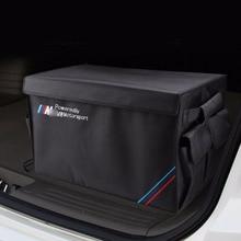 Тяжелых Оксфорд Средства ухода для автомобиля подкладке держатели, автомобиль багажника складной органайзер Сумки для хранения, 50 кг нагрузки авто сзади Стойки