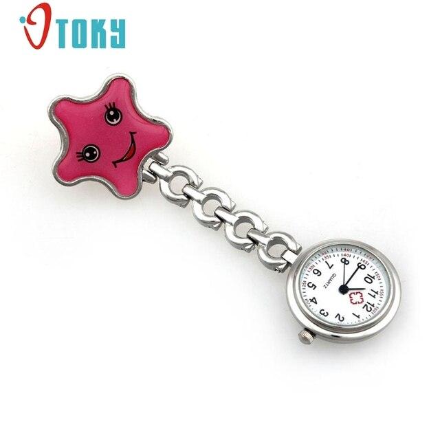 OTOKY Nurse Clip-on Fob Brooch Pendant Hanging watch Star Pocket Watch relogio f