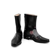 Persona 5 Джокер Шоу Курусу Косплей Обувь Сапоги Профессиональный Ручной Работы! идеальный для Вас!