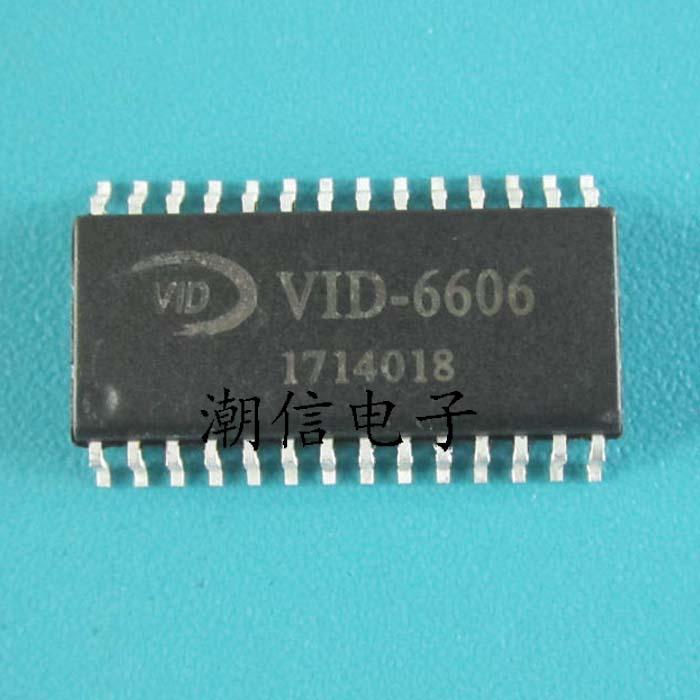 1pcs/lot VID-6606 VID6606 STI-6606 STI6606 6606 SOP-28 In Stock