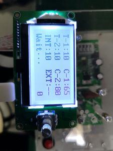 Image 4 - 100A / 40A 12864 display LCD Digitale Doppio Encoder a Impulsi Spot Saldatore Saldatura Trasformatore Della Macchina Scheda di Controllo di Controllo del Tempo