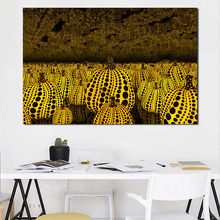 Yayoes Kusamaer Infinity Mirrors Wallpaper Canvas Posters Prints Wall Art Painting Decorative Picture Home Decoration Framework