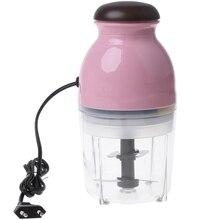 300W Eu Plug Mini Elektrische Vleesmolen Keukenmachine Groente Fruit Blender Chopper 600Ml Eu Plug