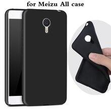 Для Meizu m3 m2 note Case Ультратонкий Черный Скраб ТПУ Soft Phone Case Для Meizu m3 m3s mini M5 pro 6 мх6 U10 U20 E Cover Case сумки