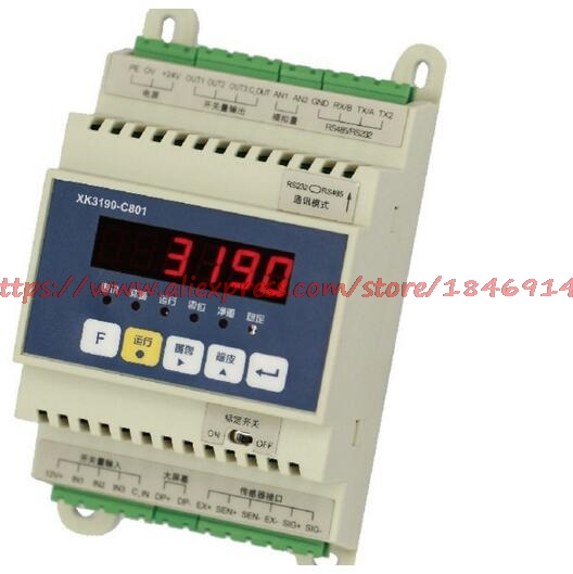 Weighing Sensor Transmitter 4-20mA Analog Communication 5V High Precision 0-10V XK3190-C801