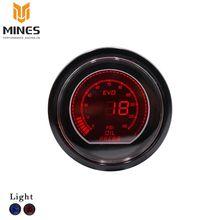 """Universal 2 """"(52mm) LCD EVO 0-150 Psi PRENSA DE ACEITE Gauge/Auto gauge/tacómetro Del Metro/Coche/Racing metro ms101033"""