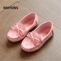 MHYONS Children Boy S Girl Baby Shoes Slip On Loafers Flats Spring Autumn Fashion Boys Sneakers