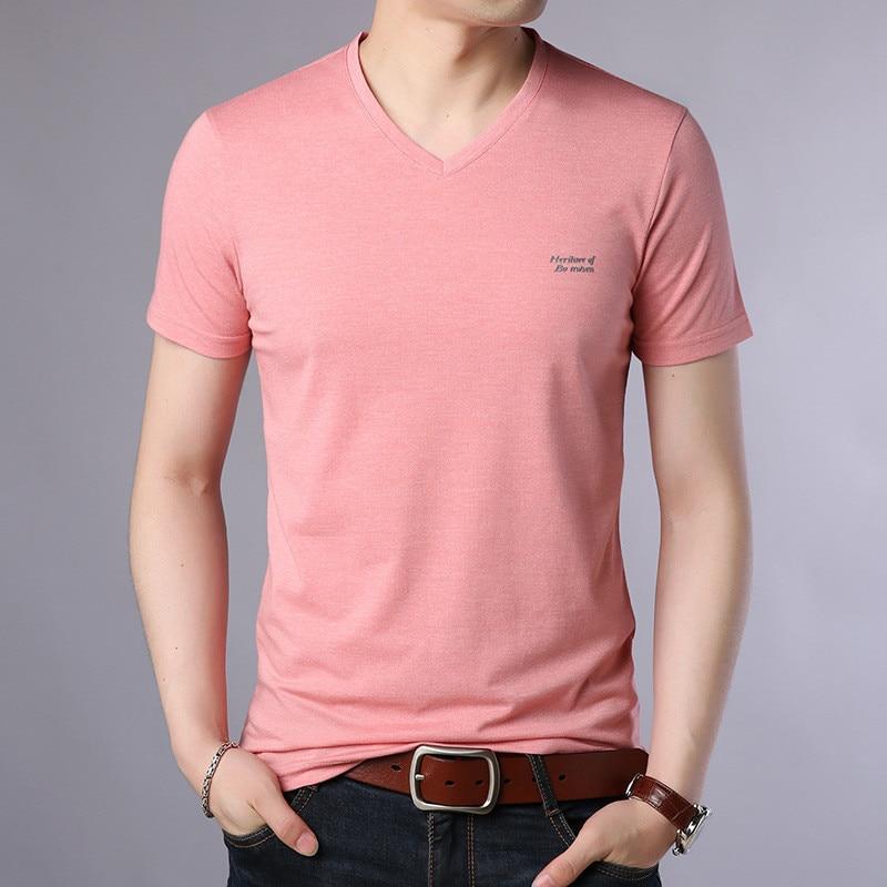 887bd8138fa0e Hommes-t-shirt-de-tendance-Cor-en-col-rond-demi-manches-d-t-hommes-de -slim.jpg