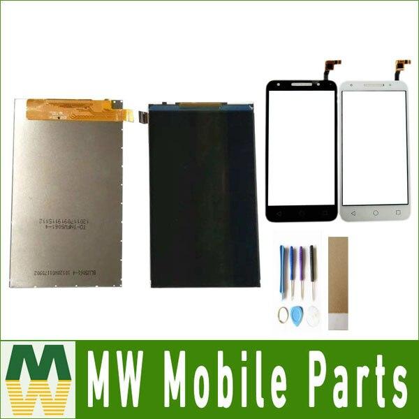 Para Alcatel Pixi 4 4G LTE O OT5045 5045 5045A 5045D 5045G 5045J ot5044 ot5044d ot5044Y pantalla LCD con herramientas + cinta