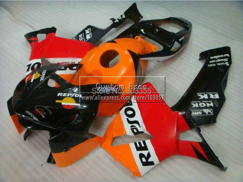 Honda Parts Cheap >> Cheap Injection Motorcycle Parts For Honda Orange Repsol Cbr600rr Fairing Kit Cbr 600rr 2005 2006 Cbr 600 Rr 05 06 Fairings Kit