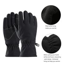 Winter Waterproof Windproof Gloves Snow Gloves Ski Warm Full Finger Ski Gloves For Outdoor Motorcycle Cycling electric battery heated gloves smart control 3 7v warm gloves winter outdoor waterproof windproof sports ski bicycle gift