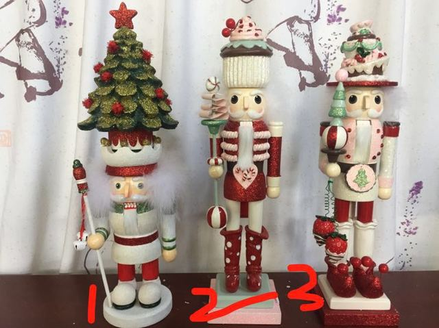 Wooden Nutcracker Handicrafts Personality High Quality Decorations