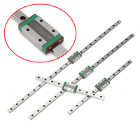 New1 MGN12 Linear Guide 1 MGN12 Slider Set Miniature Guide Block 250 300 400 500mm CNC